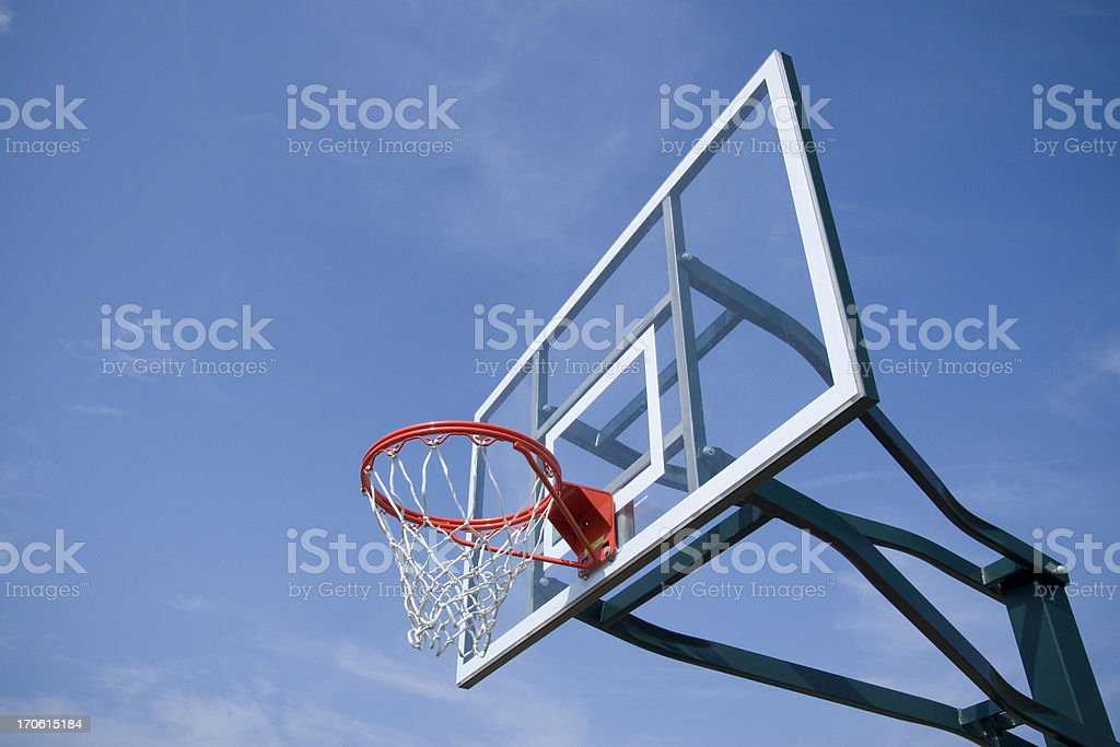 basketball hoop 4 royalty-free stock photo