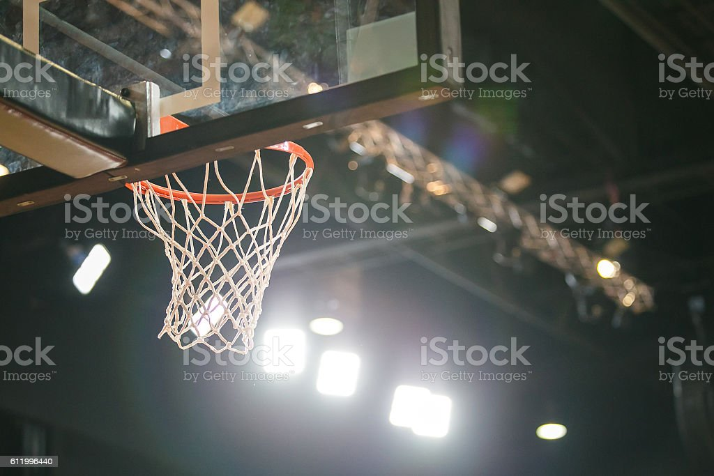 Basketball Hoop. stock photo