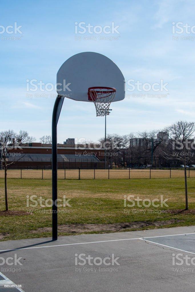 Basketball hoop foto de stock royalty-free