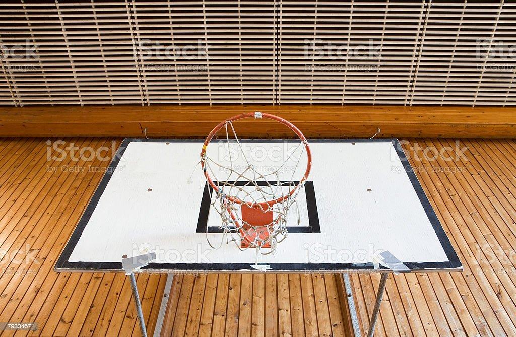 Basketball hoop 免版稅 stock photo