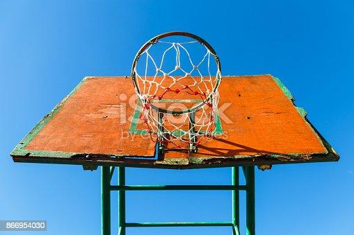 istock Basketball Hoop 866954030