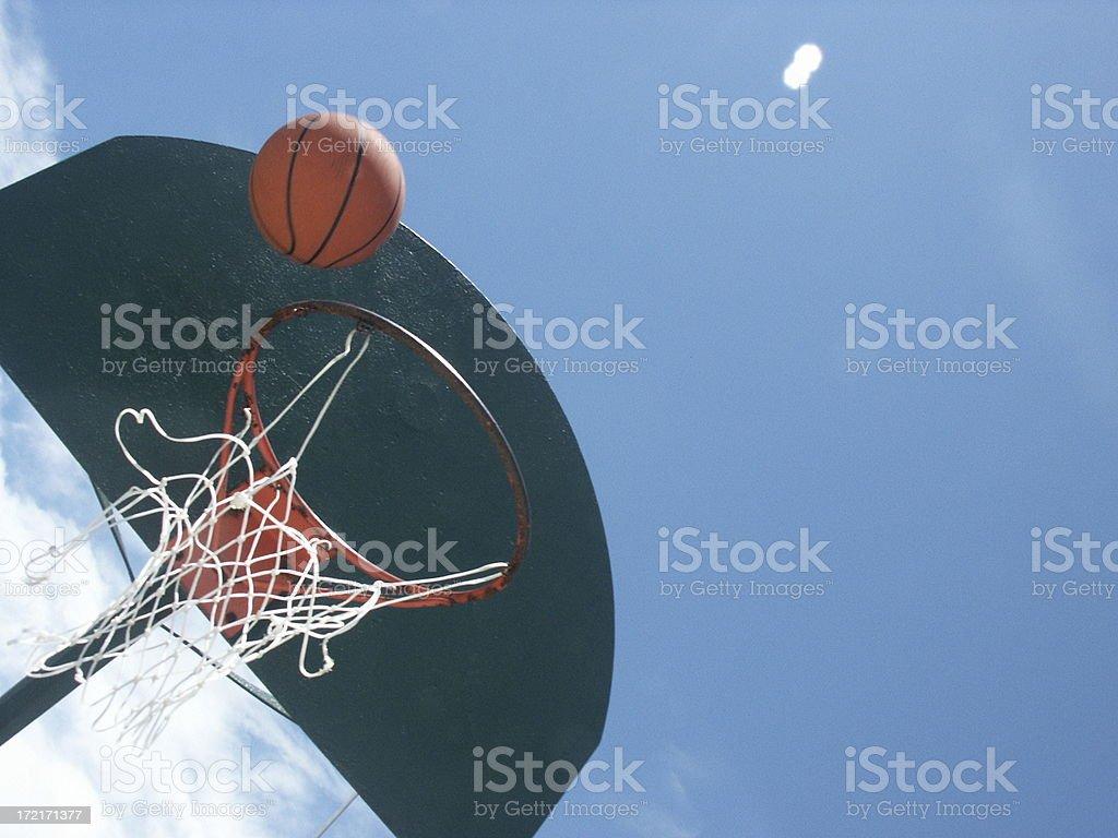 Basketball III royalty-free stock photo