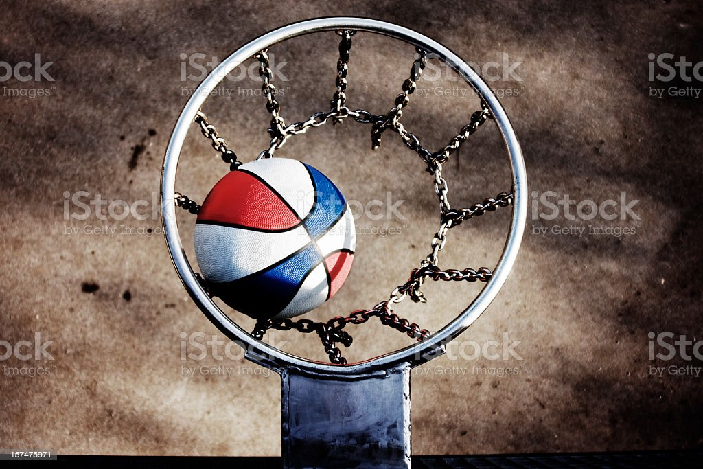 Basketball in America stock photo