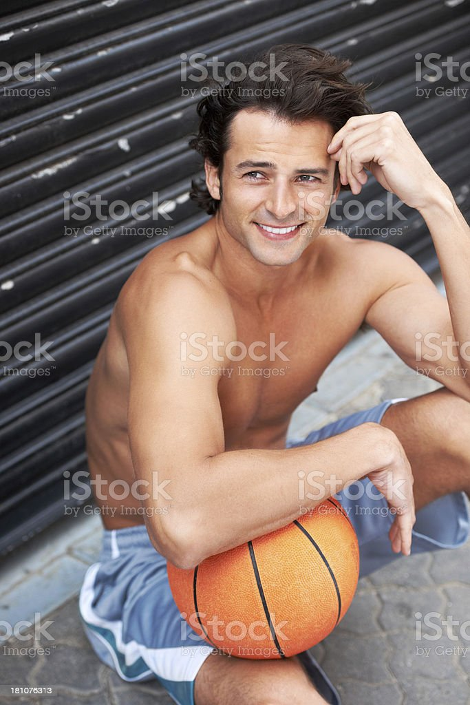 Basketball is more than a sport royalty-free stock photo
