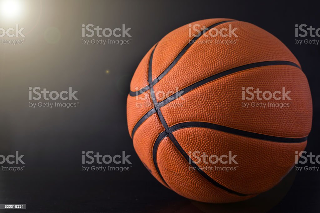 Basketball item ball stock photo