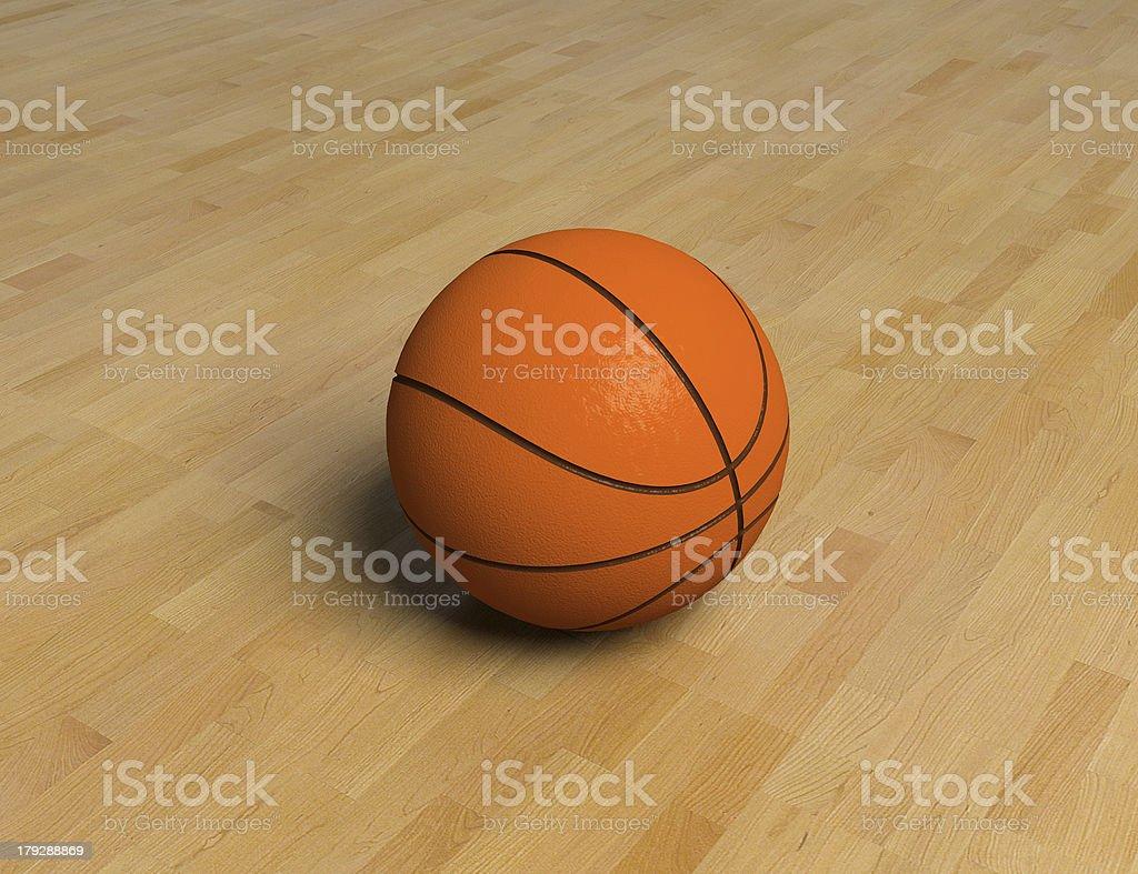 basketball items stock photo
