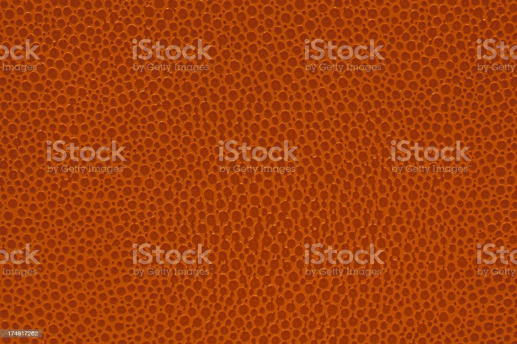 basketball leather texture background skin close-up.