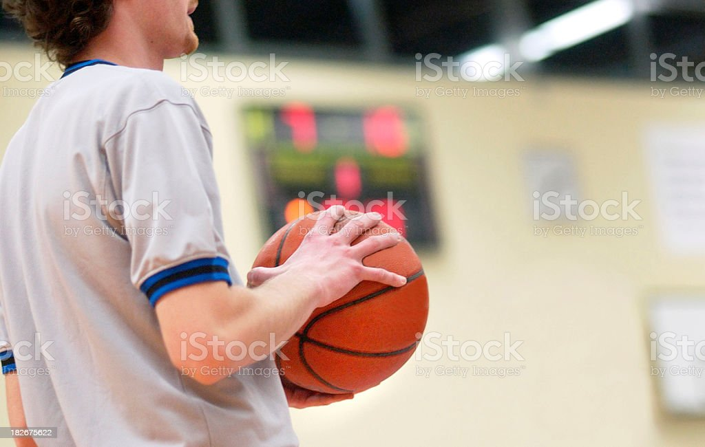 Basketball. Let's Go! royalty-free stock photo