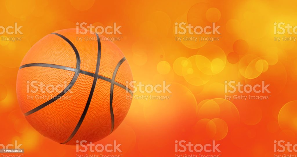Basketball on abstract background royalty-free stock photo