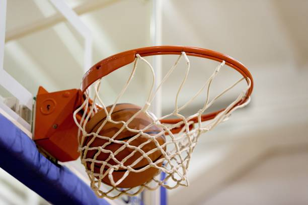 basketball. - basketball hoop stock pictures, royalty-free photos & images