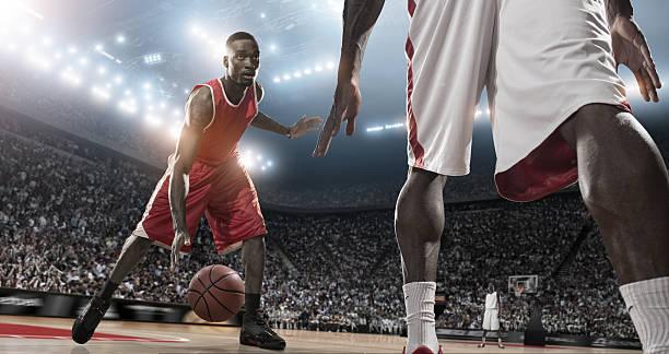 action-basketball player - profisportler stock-fotos und bilder
