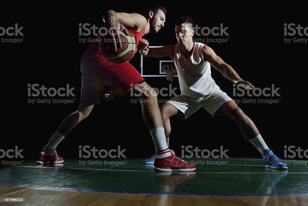 basketball-Spieler in Aktion – Foto
