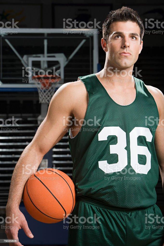 Basketball player 免版稅 stock photo