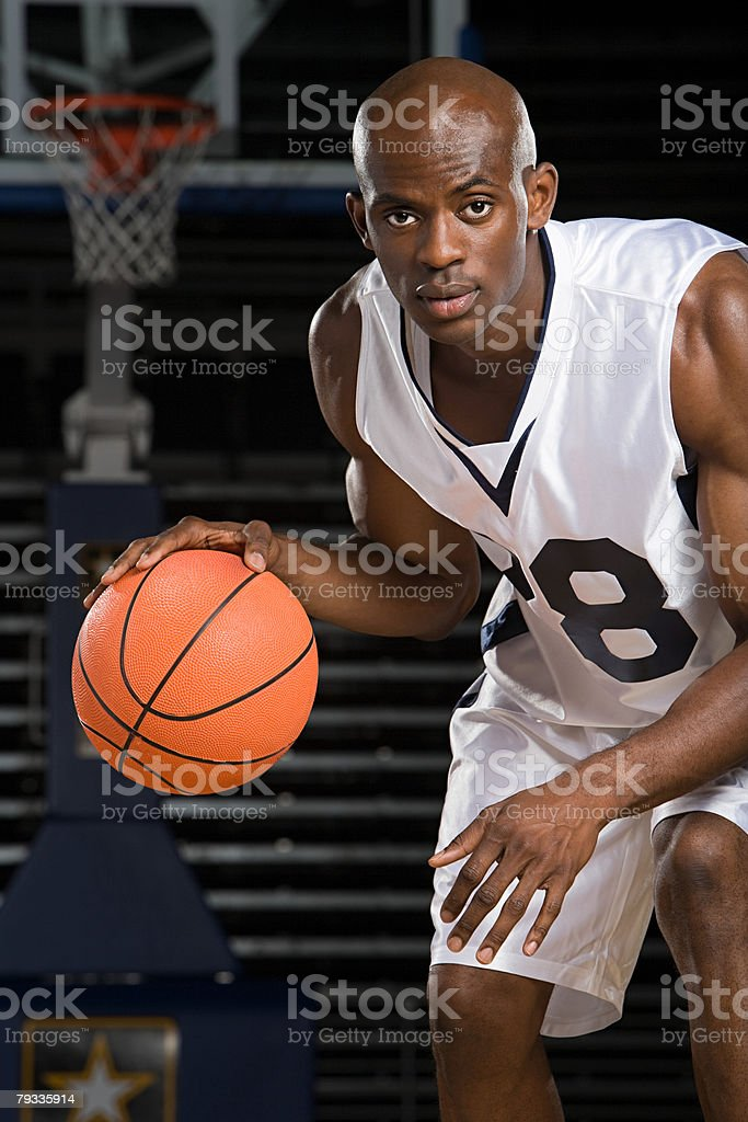 Basketball player royalty-free 스톡 사진