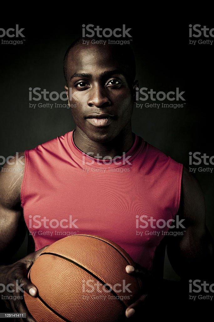 basketball player portrait royalty-free stock photo