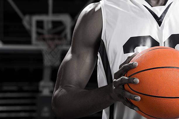 basketball-Spieler mit basketball – Foto