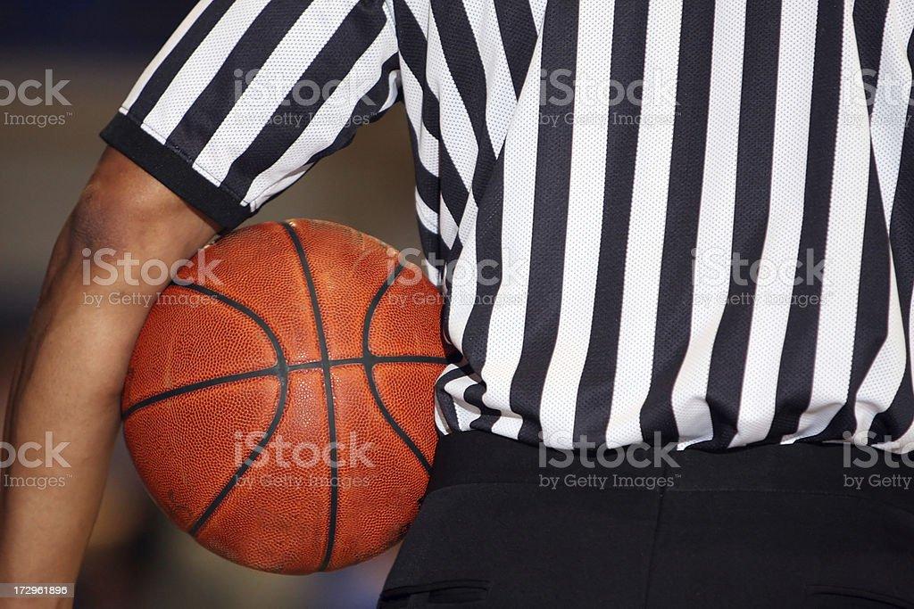 Basketball Referee royalty-free stock photo