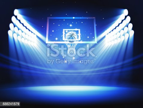 istock Basketball rim 535241579