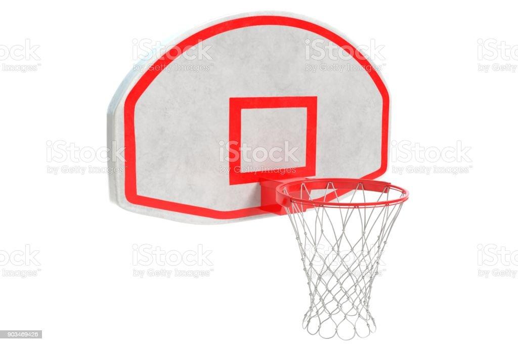 Basketball Rim stock photo