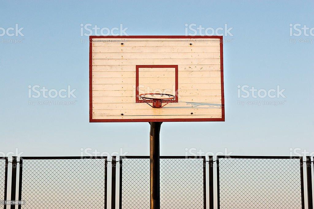 basketball ring royalty-free stock photo