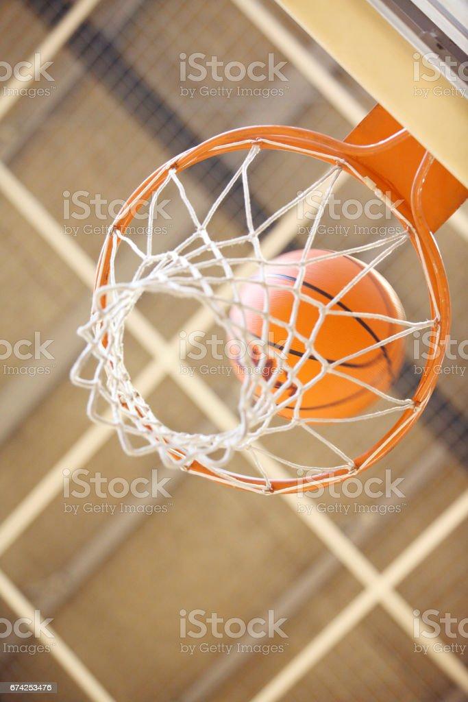 Basketball-ring – Foto