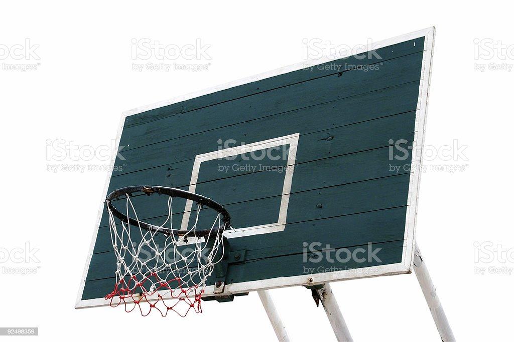 basketball ring stock photo