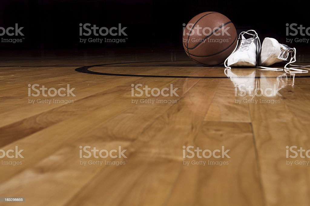 Basketball Shoes stock photo