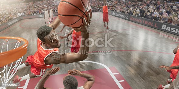 istock Basketball Slam Dunk 476335870