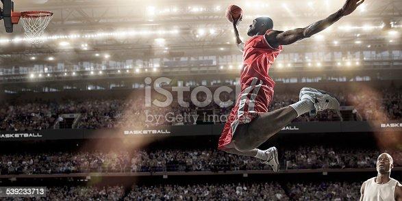 istock Basketball Slam Dunk 539233713