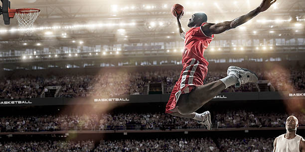 Basket Slam Dunk - foto stock