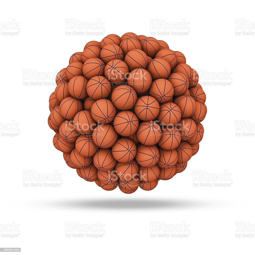 Basketball sphere royalty-free stock photo