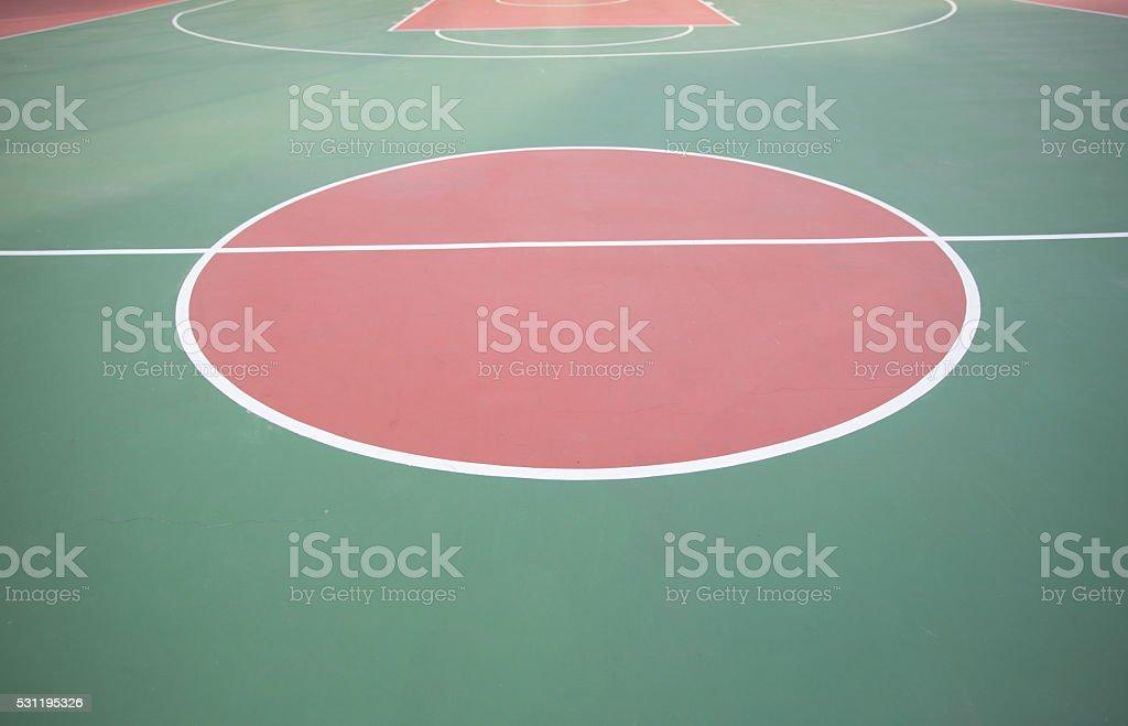 basketball sport court.