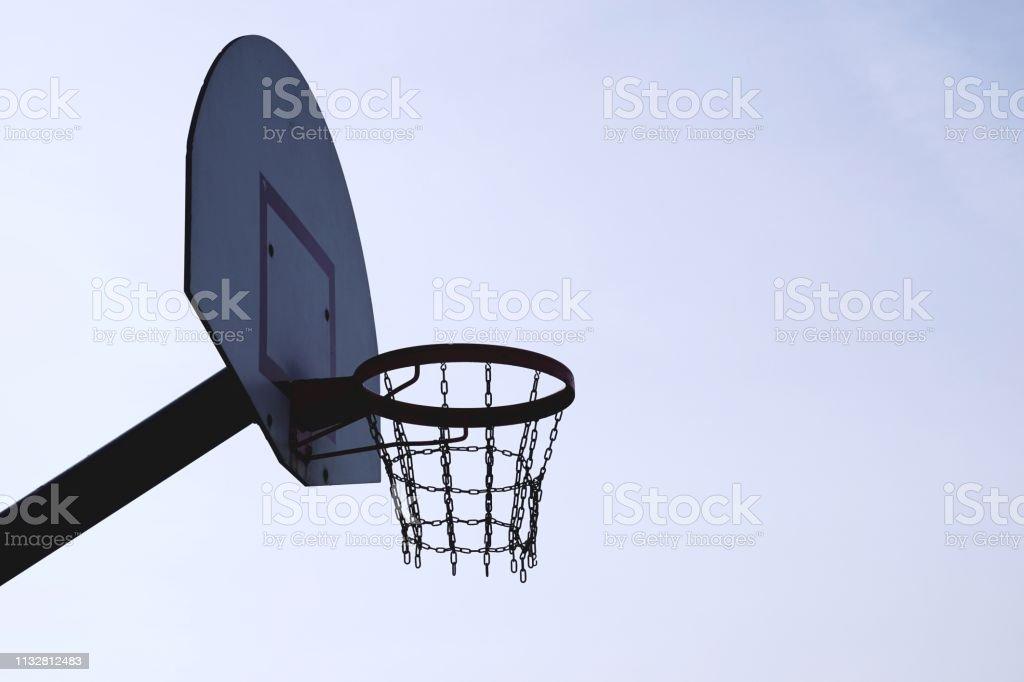 basketball sport in the street. bilbao. spain
