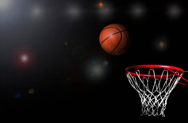 バスケット ボール スタジアム アリーナ背景 - フリースロー ストックフォトと画像