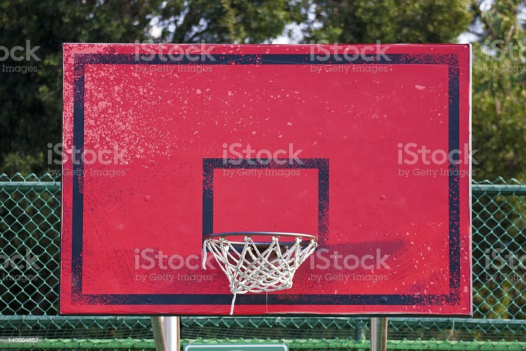 basketball stands royalty-free stock photo