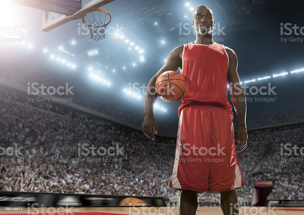 Basketball Superstar stock photo