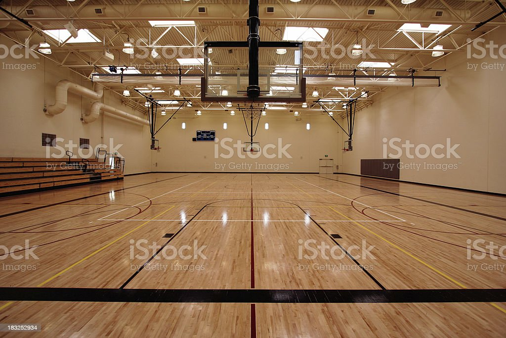 Basketball Temple stock photo