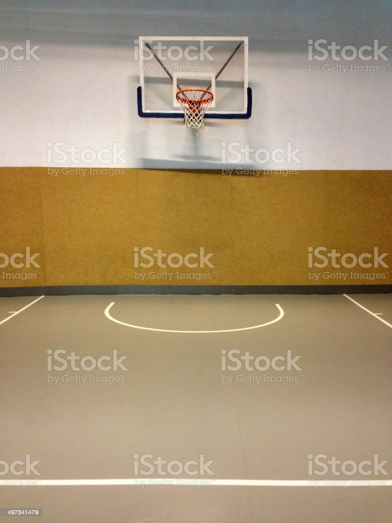 Basketball Temple royalty-free stock photo