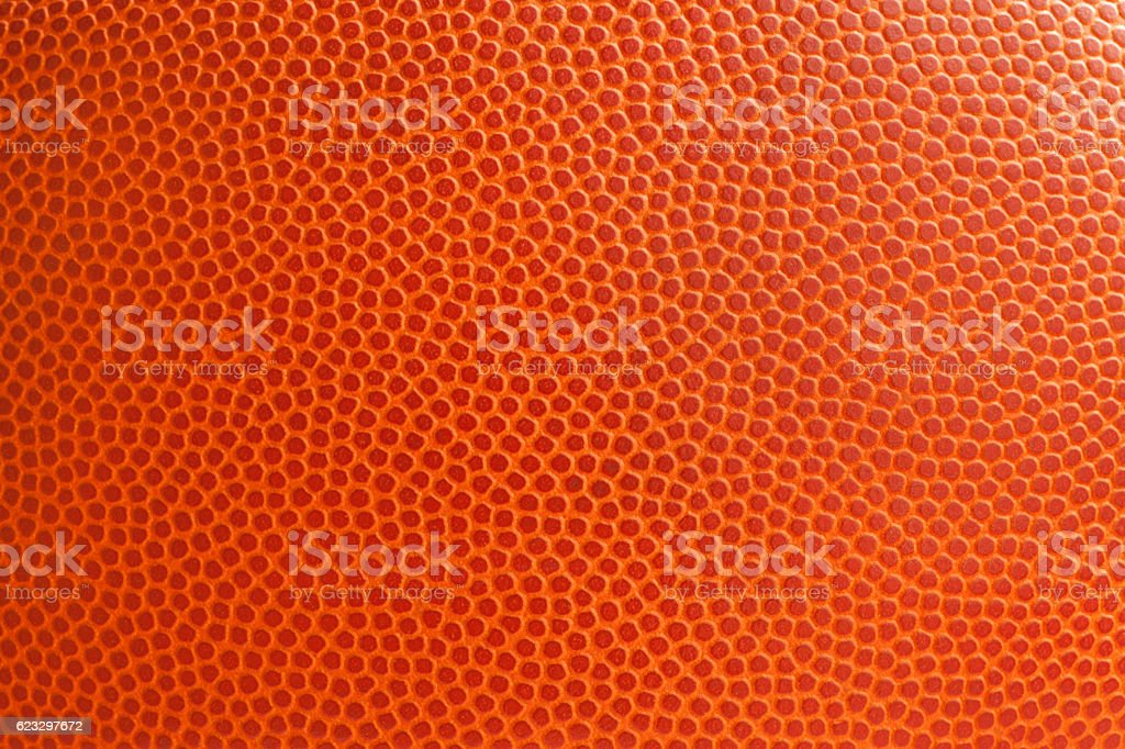 Basketball texture close up stock photo