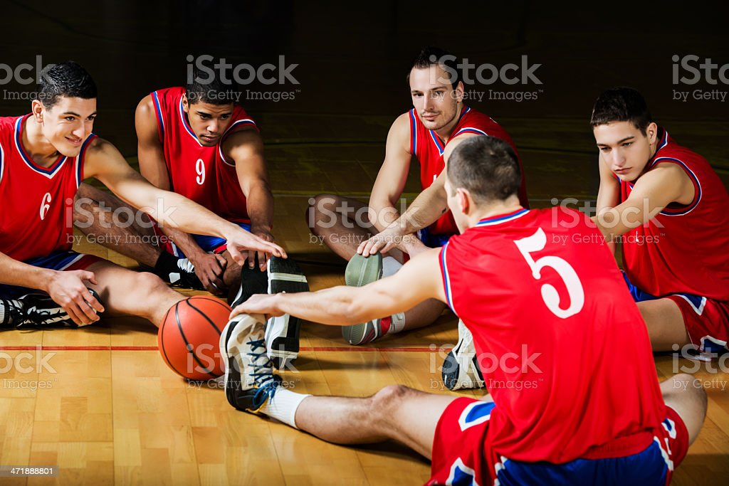 Basketball training. royalty-free stock photo