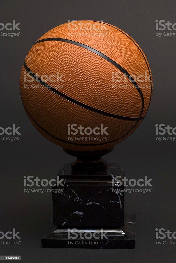 basketball trophy stock photo