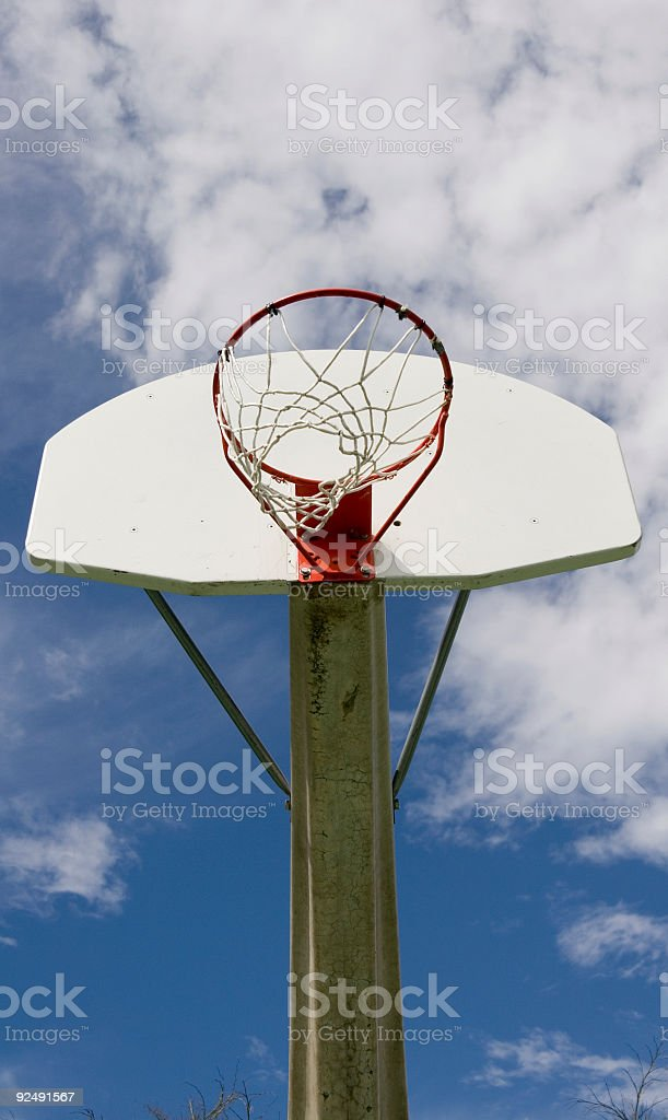 Basketball vertical royalty-free stock photo