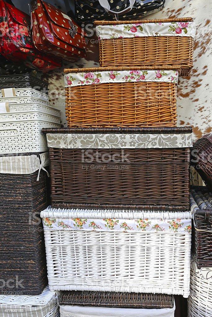 Baskets royalty-free stock photo