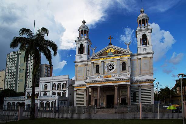 Basílica de Nazaré, Belém, Pará State, Brazil stock photo