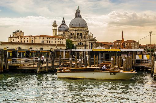Basílica de Santa Maria della Salute in Venice, Italy