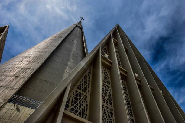 Basílica Menor Nossa Senhora da Gloria stock photo