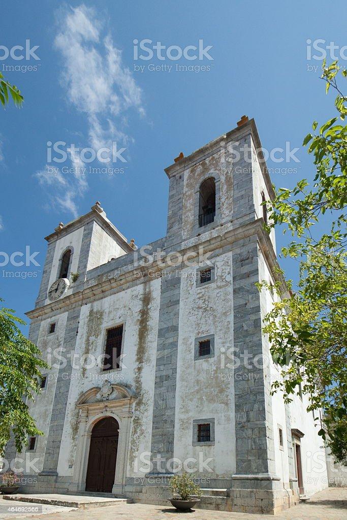 Basílica Real de Nossa Senhora da Conceicao stok fotoğrafı
