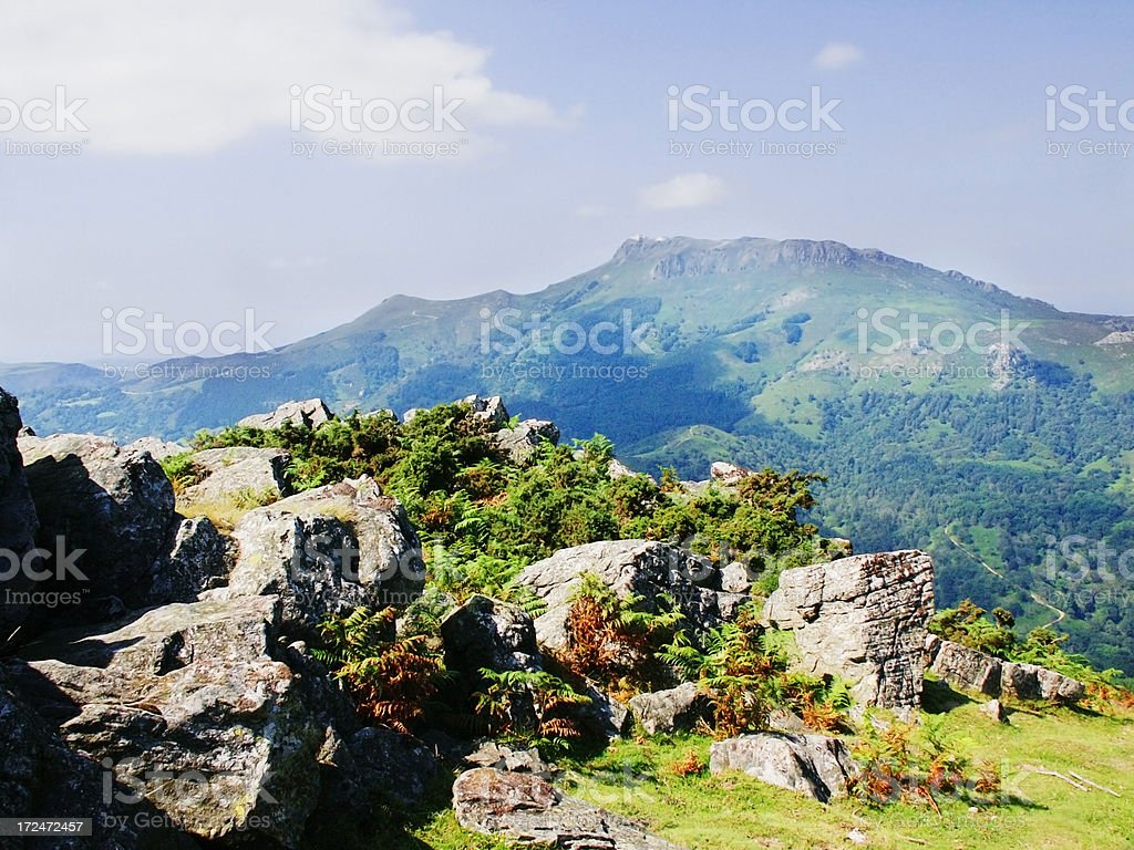 pays basque royalty-free stock photo