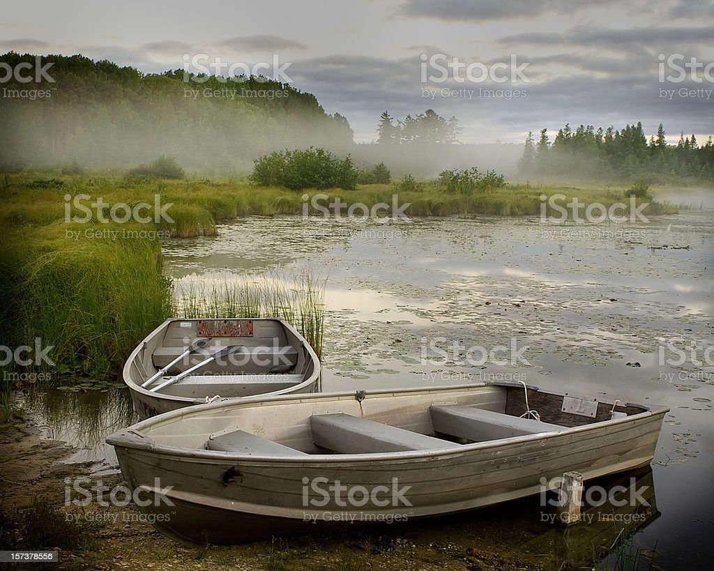 Bass Boats royalty-free stock photo