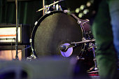 Bass drum with copyspace